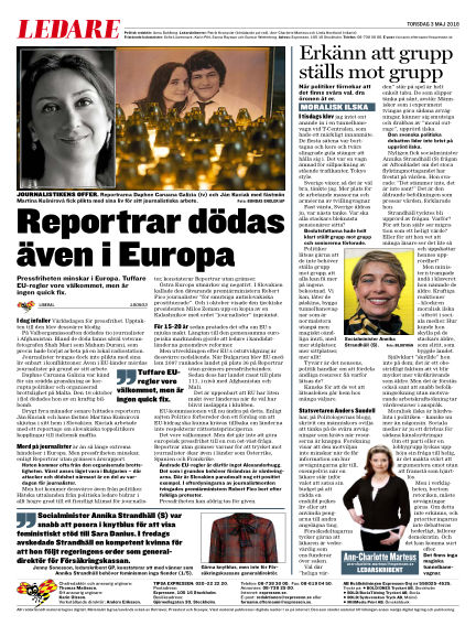 Expressen May 03, 2018 00:00