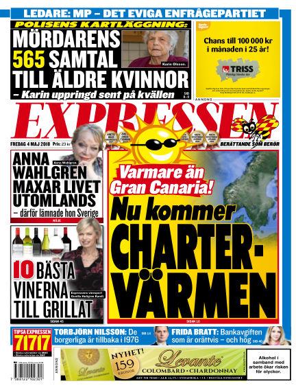 Expressen May 04, 2018 00:00