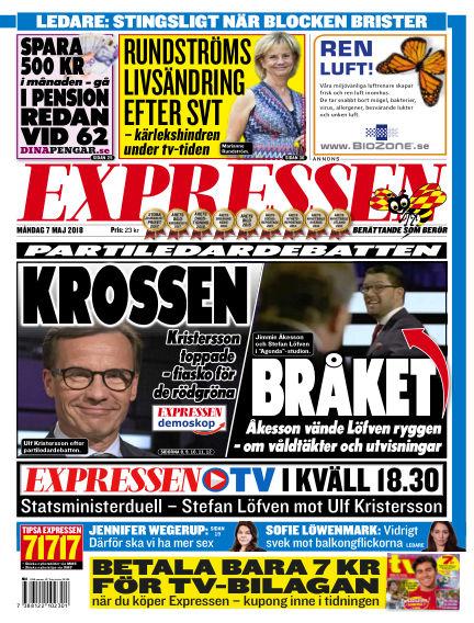 Expressen May 07, 2018 00:00
