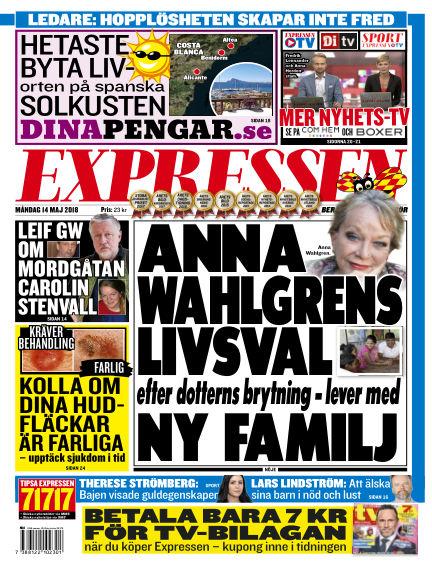 Expressen May 14, 2018 00:00