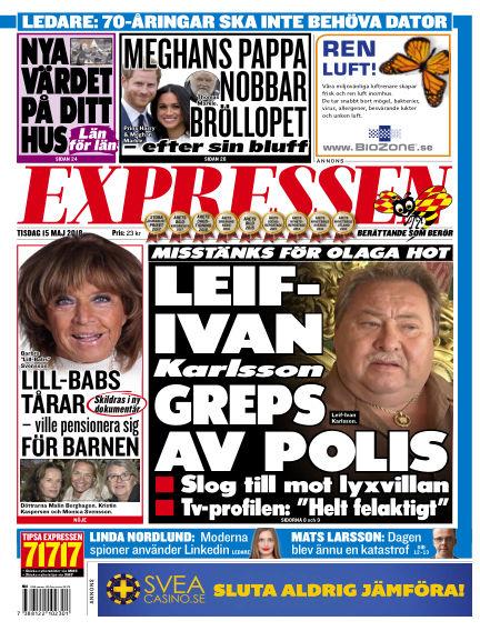 Expressen May 15, 2018 00:00
