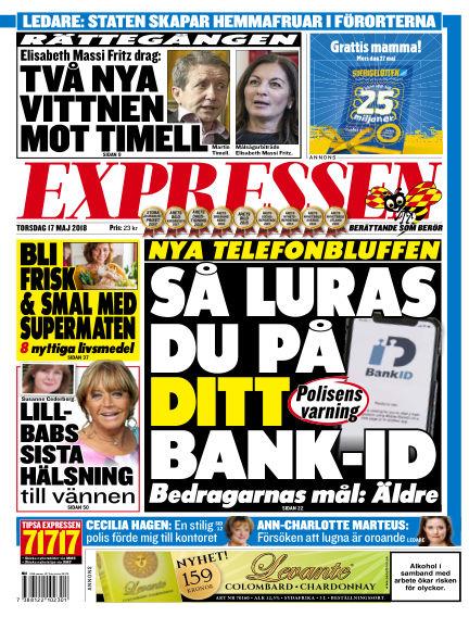 Expressen May 17, 2018 00:00