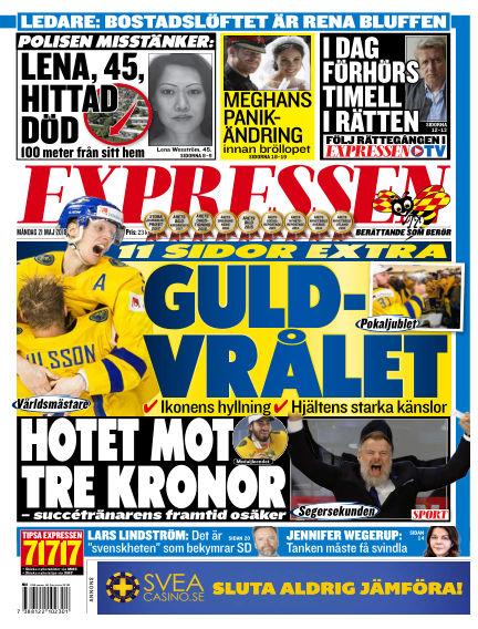Expressen May 21, 2018 00:00