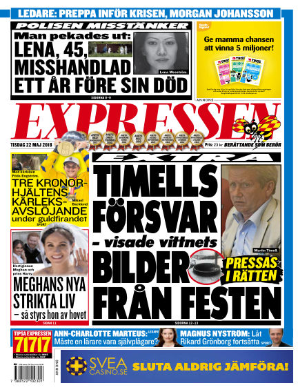 Expressen May 22, 2018 00:00
