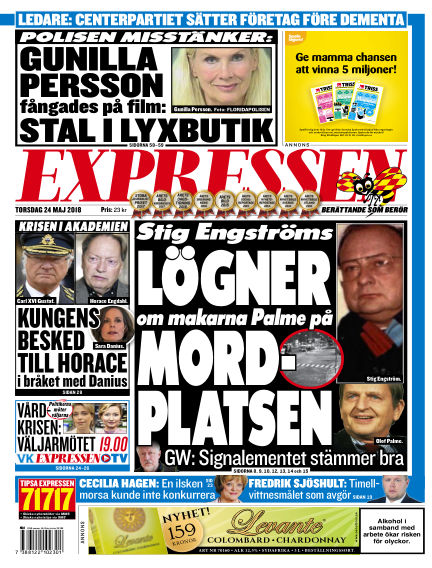 Expressen May 24, 2018 00:00