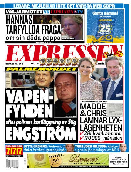 Expressen May 25, 2018 00:00
