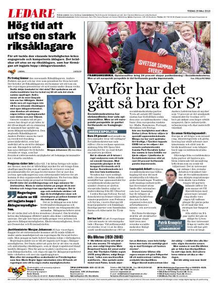 Expressen May 29, 2018 00:00