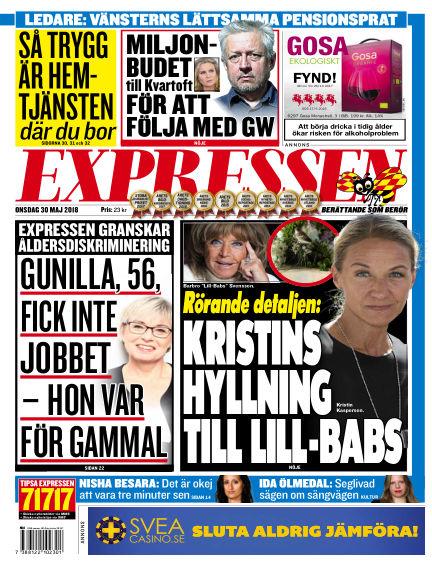 Expressen May 30, 2018 00:00