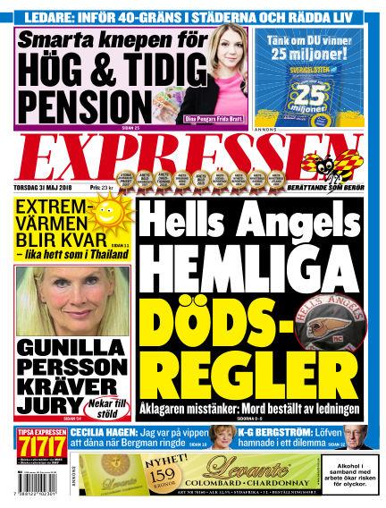 Expressen May 31, 2018 00:00