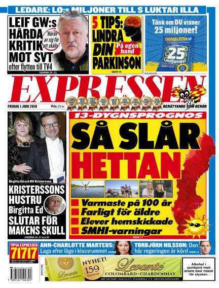 Expressen June 01, 2018 00:00