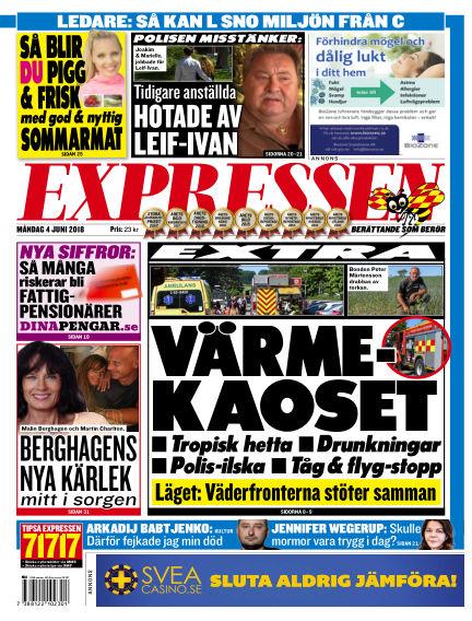 Expressen June 04, 2018 00:00