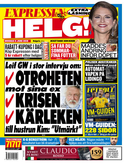 Expressen June 06, 2018 00:00