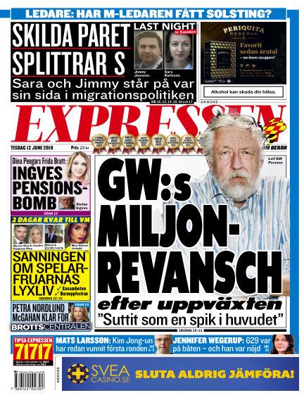 Expressen June 12, 2018 00:00