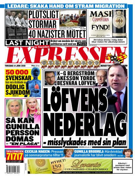 Expressen June 14, 2018 00:00