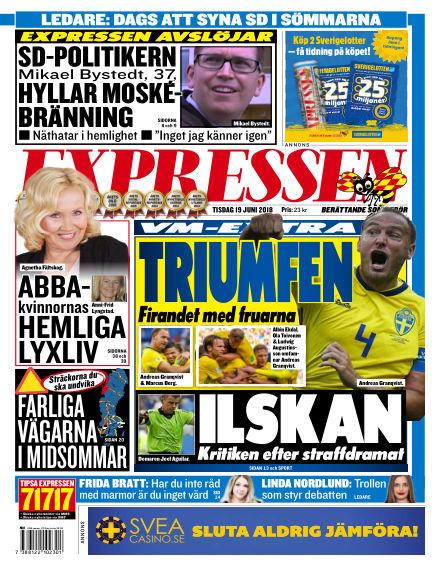 Expressen June 19, 2018 00:00