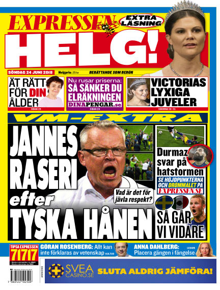 Expressen June 24, 2018 00:00