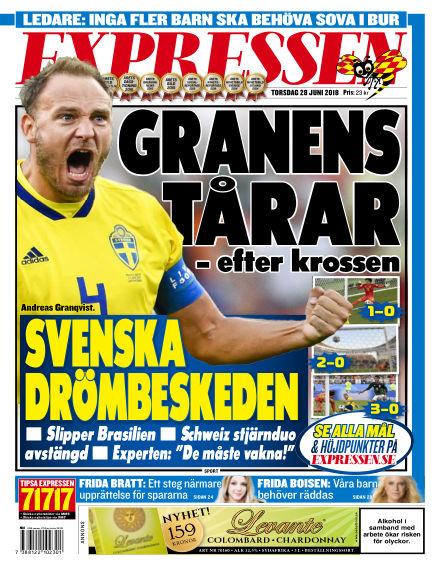 Expressen June 28, 2018 00:00