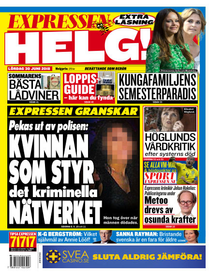 Expressen June 30, 2018 00:00