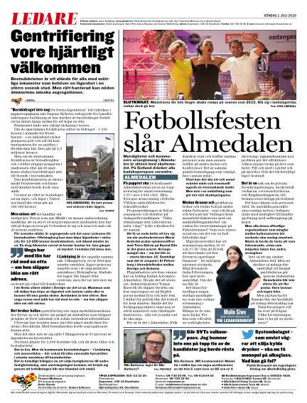 Expressen July 01, 2018 00:00