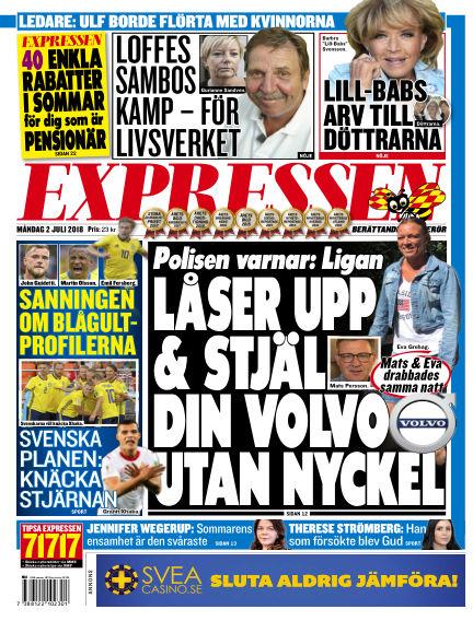 Expressen July 02, 2018 00:00