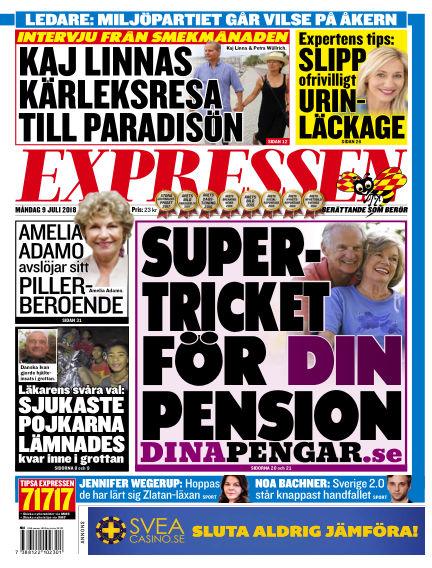 Expressen July 09, 2018 00:00