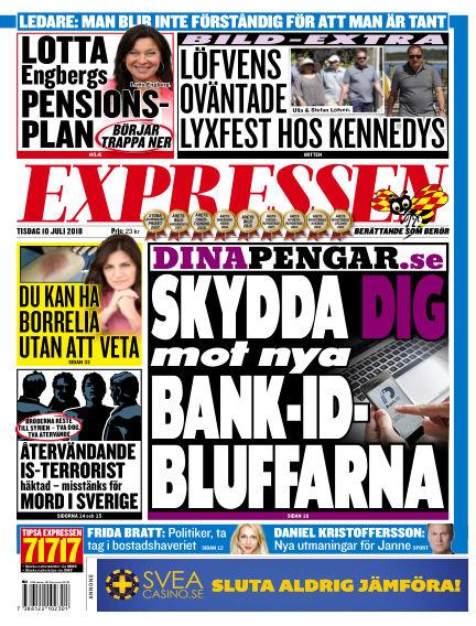 Expressen July 10, 2018 00:00