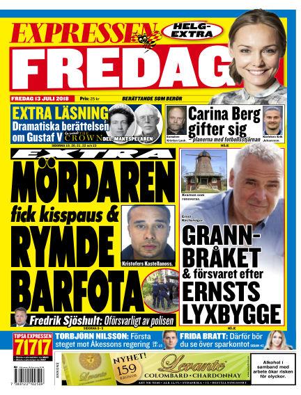 Expressen July 13, 2018 00:00
