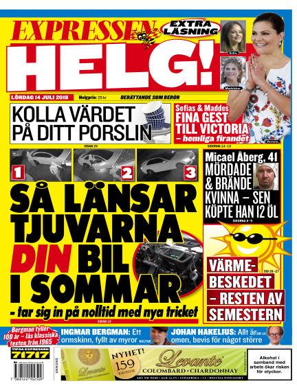 Expressen July 14, 2018 00:00