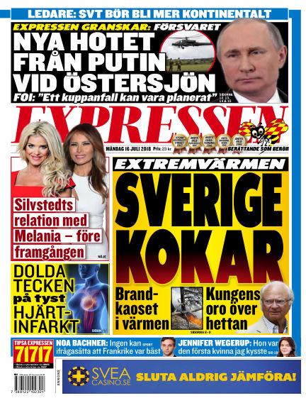 Expressen July 16, 2018 00:00