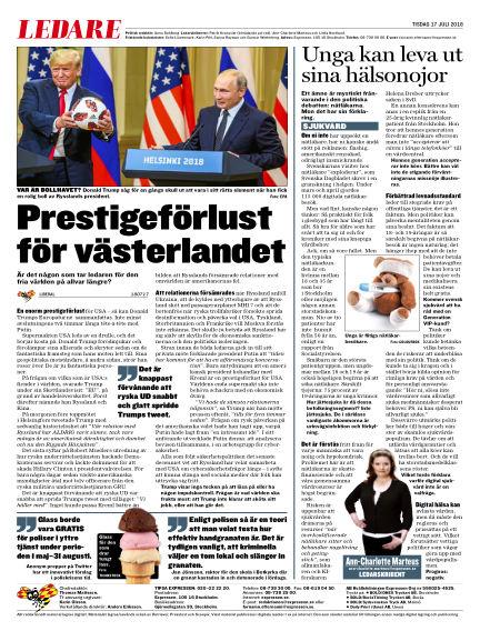 Expressen July 17, 2018 00:00