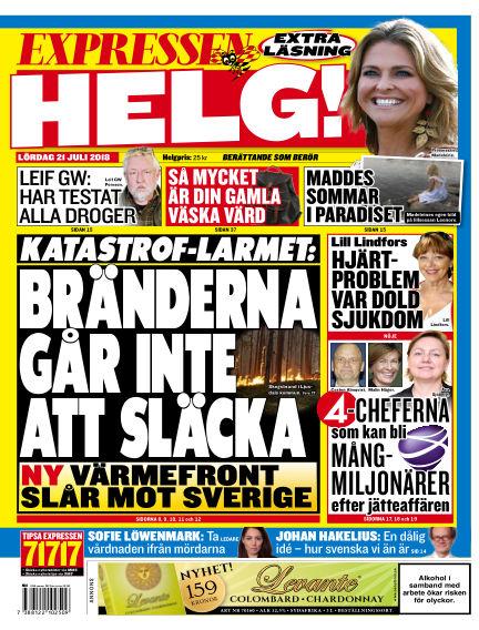 Expressen July 21, 2018 00:00