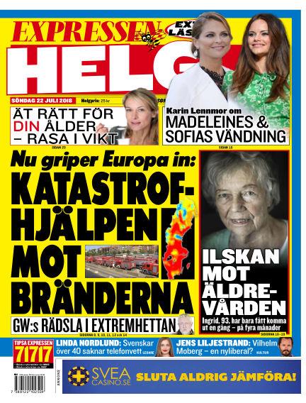 Expressen July 22, 2018 00:00