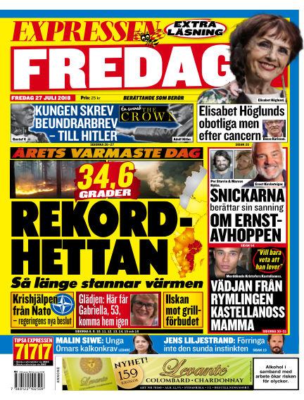 Expressen July 27, 2018 00:00