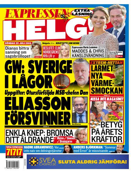 Expressen July 29, 2018 00:00