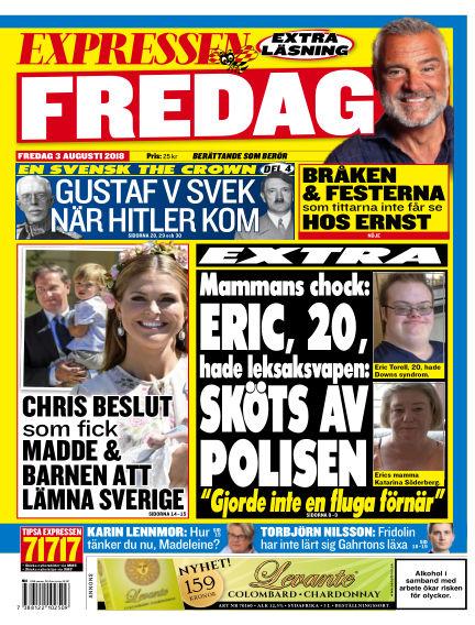 Expressen August 03, 2018 00:00