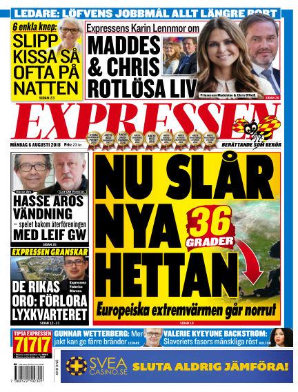 Expressen August 06, 2018 00:00