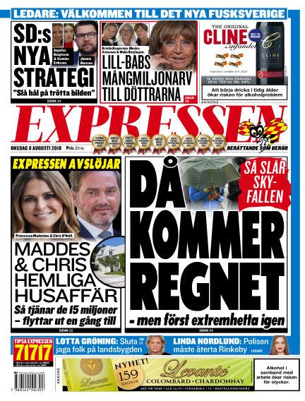 Expressen August 08, 2018 00:00
