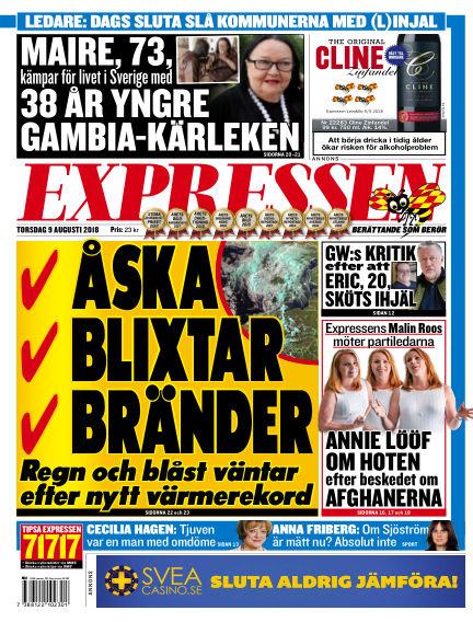 Expressen August 09, 2018 00:00