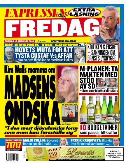 Expressen August 10, 2018 00:00