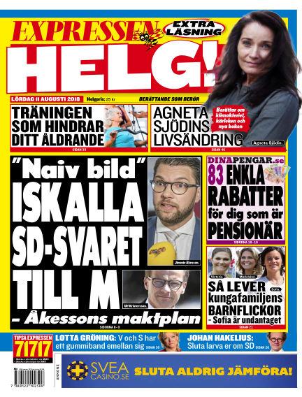 Expressen August 11, 2018 00:00