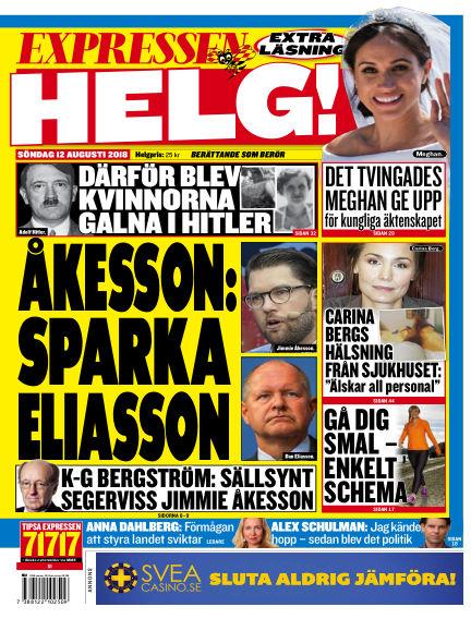 Expressen August 12, 2018 00:00