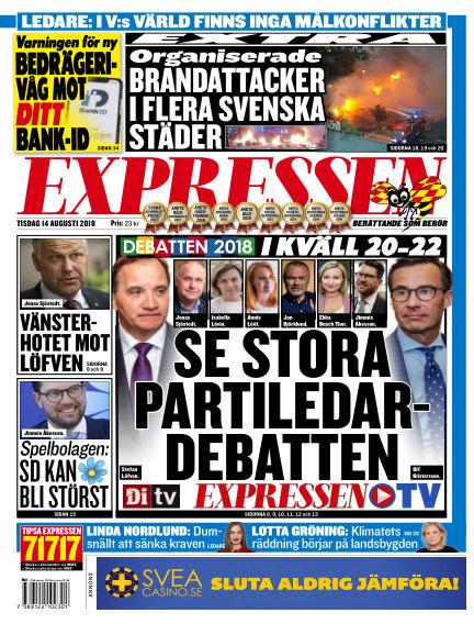 Expressen August 14, 2018 00:00