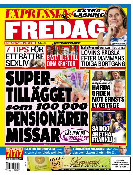 Expressen August 17, 2018 00:00