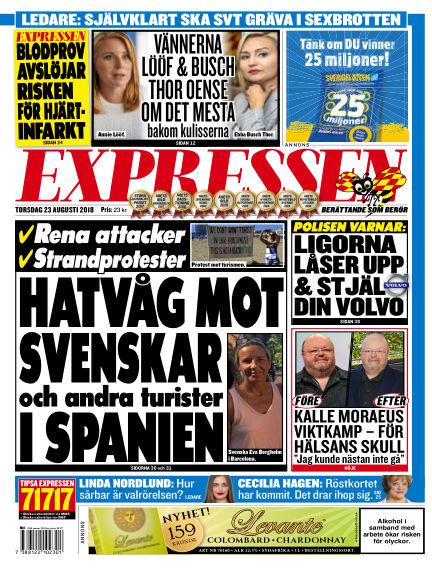 Expressen August 23, 2018 00:00