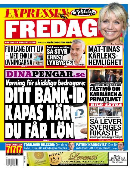 Expressen August 24, 2018 00:00