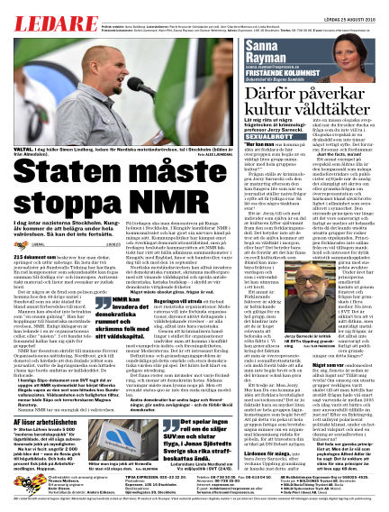 Expressen August 25, 2018 00:00