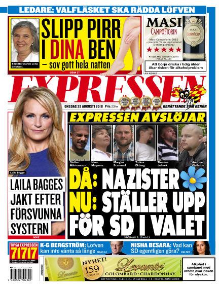 Expressen August 29, 2018 00:00