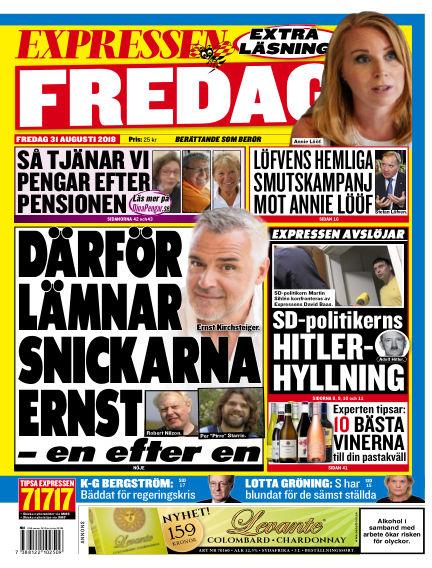 Expressen August 31, 2018 00:00