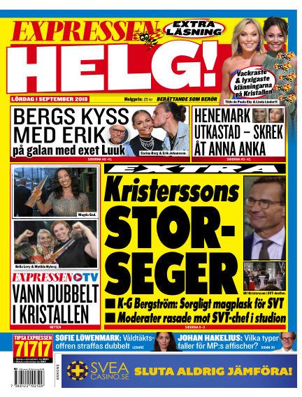 Expressen September 01, 2018 00:00