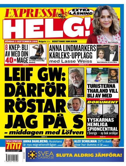Expressen September 02, 2018 00:00